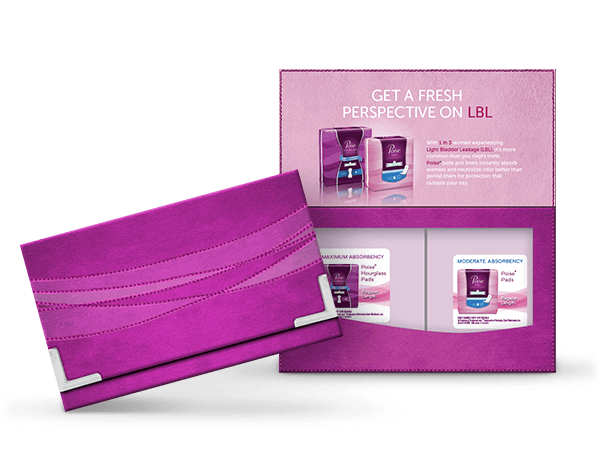 FREE Poise Liner or Pad sample...